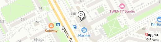 Людмила на карте Сургута