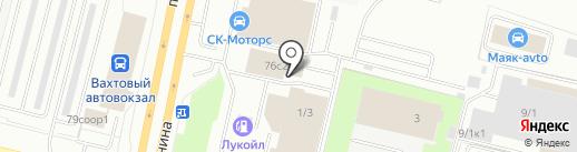 Цивилизация на карте Сургута