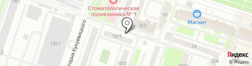 Ульяна на карте Сургута
