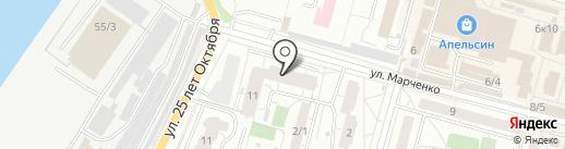 Богатырь на карте Омска