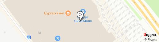 Фирменный магазин на карте Сургута