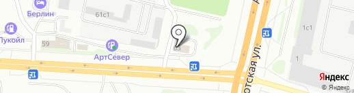 Автозапчасти Cummins на карте Сургута