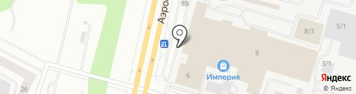 Виола на карте Сургута