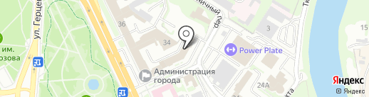 Справочно-информационная служба на карте Омска