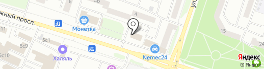 Баскин Роббинс на карте Сургута