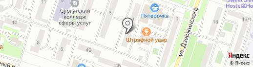 Центр культуры и досуга на карте Сургута