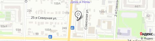 Оптовая фирма на карте Омска