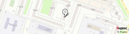 Администрация г. Сургута на карте Сургута