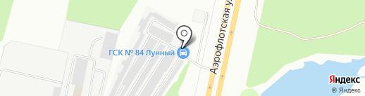 Аргон86 на карте Сургута