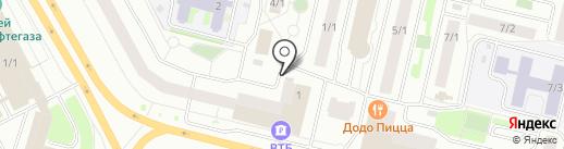 Выхода НЕТ на карте Сургута