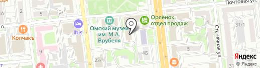 МИСТЕРТИКЕТ на карте Омска