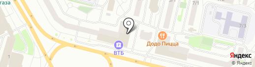 Пространство НЕБО на карте Сургута
