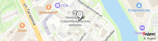 Плюс Банк, ПАО на карте Омска