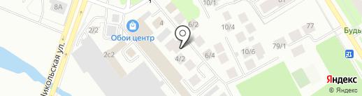 Противопожарная защита на карте Сургута