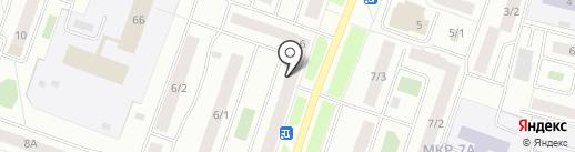 New Йорк на карте Сургута