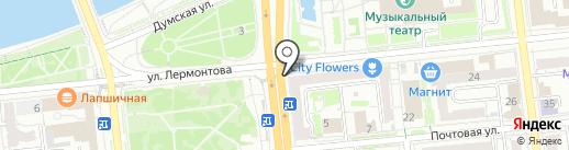 Souvenir shop на карте Омска