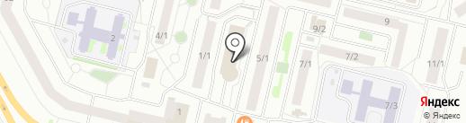 Умка на карте Сургута