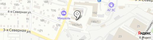 RED DUCK на карте Омска