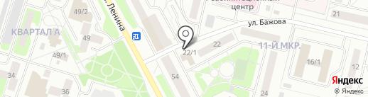 Авиатур на карте Сургута
