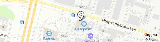 Amigo на карте Сургута