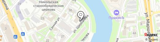 Prospektonline.ru на карте Омска