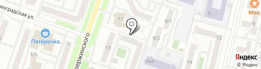 Бинбанк, ПАО на карте Сургута