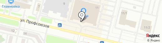 Баолинь на карте Сургута