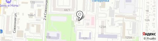 Абсент на карте Омска