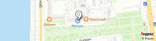 Эврика на карте Омска