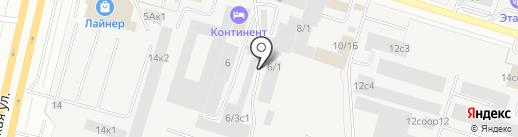 Магазин хозяйственных товаров и бытовой химии на карте Сургута