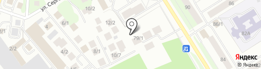 Клиника семейного здоровья на карте Сургута