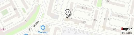 Северстройсервис на карте Сургута