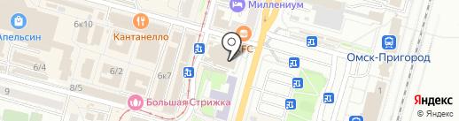 Маркони-Сервис на карте Омска