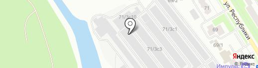 АвтоПрофиСервис на карте Сургута