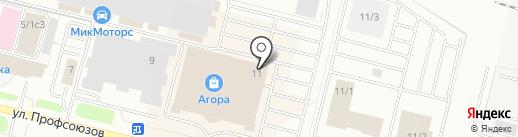 Комплекс К на карте Сургута