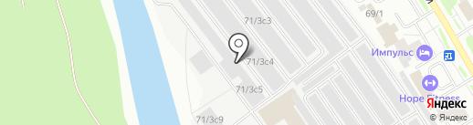 СТО №1 на карте Сургута