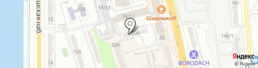 Общественная приемная депутата Саяпина А.Ю. на карте Омска