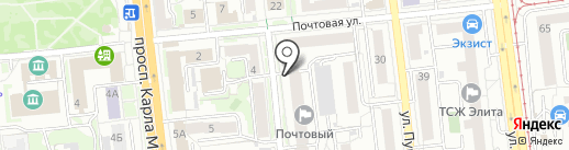 Патрик, ГК на карте Омска