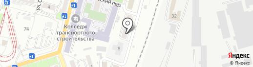 Общественная приемная депутата Свешниковой Е.И. на карте Омска