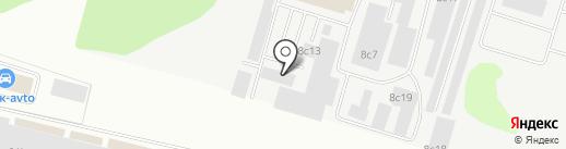 БПЗ Сургут на карте Сургута