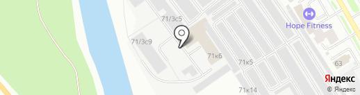 ВЕДАТИ на карте Сургута