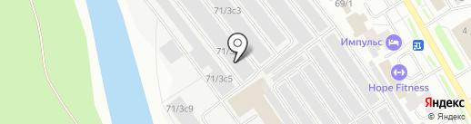 MaxMebel на карте Сургута