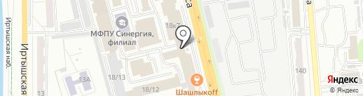 ЕвроСтрой на карте Омска