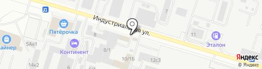 Авто-Притяжение на карте Сургута