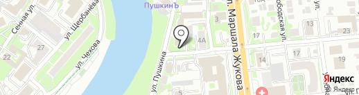 Христианский телефон доверия на карте Омска