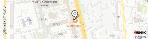Платежный терминал, Банк Уралсиб, ПАО на карте Омска