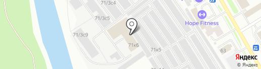 ТрансКонтроль на карте Сургута