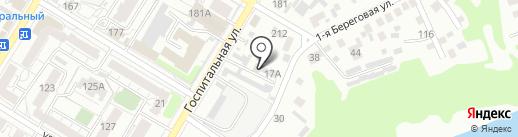 Арт 55 на карте Омска
