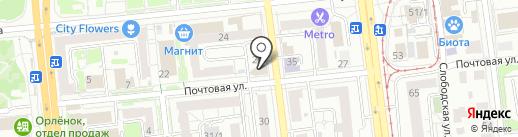 ПиК Альянс на карте Омска