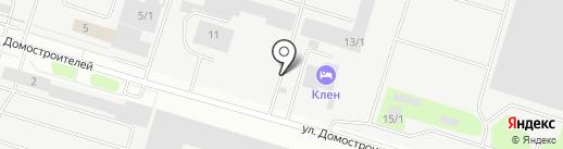 Магазин гидроаппаратуры и резинотехнических изделий на карте Сургута
